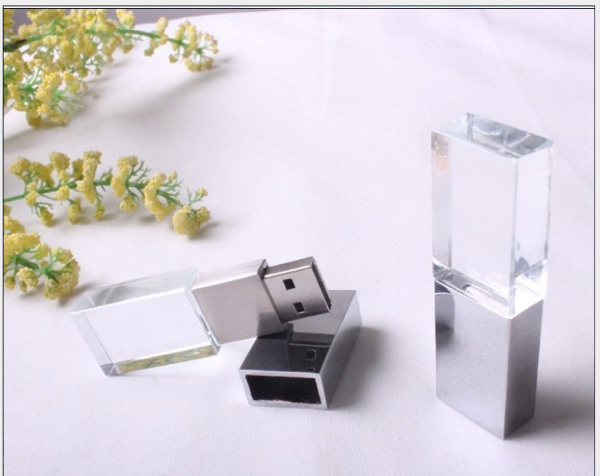 Custom Crystal U Disk USB Flash Drive