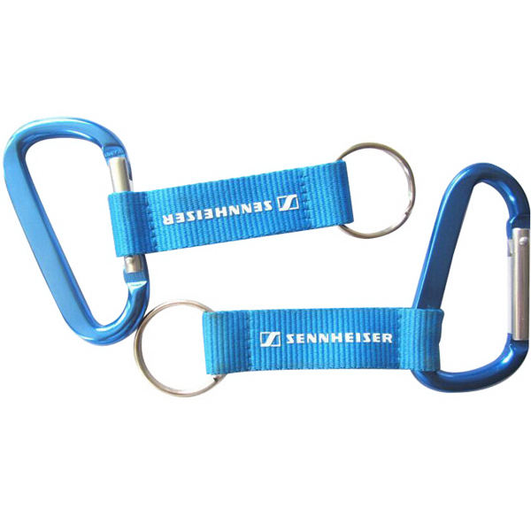 Customized Logo Aluminium Mountaineering Buckle