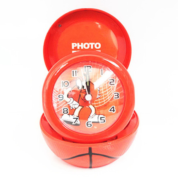 Funny Kids Basketball Desk Clock