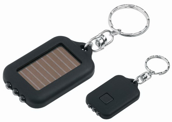 Rechargeable Personalized Gift Item Solar Led Flashlight