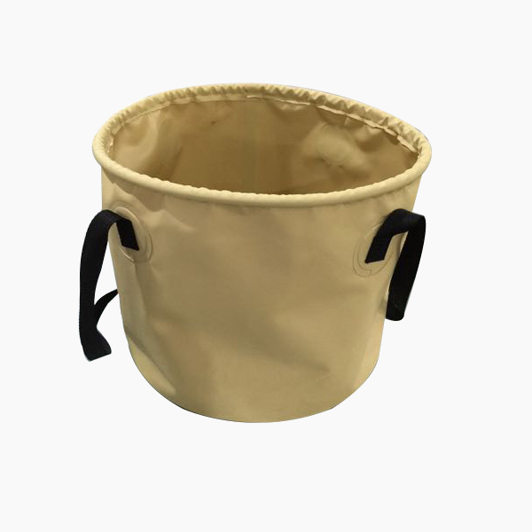 Waterproof PVC Folding Bucket;Outdoor Folding Bucket