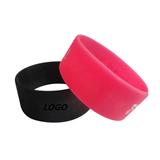 1'' Wide Silicone Wristband