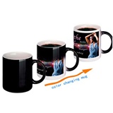 11 oz Promotional Full Color Changing Coffee Mugs