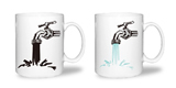 14 oz ceramic color changing mug