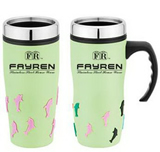 16 oz Color Dophin Travel Mug
