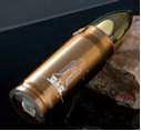 17 oz.Bullet Shapred Stainless Steel Sports Bottle