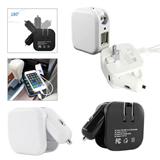2 in 1 Dual Car/Wall Charger