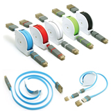 2 in 1 Multi-functional Telescopic USB Cable for Cellphone