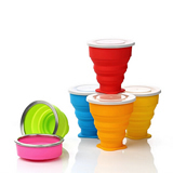 200ml Portable Silicone Folding Cup