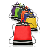 210D polyester Drawstring Backpack/Promotional Cinch Bag