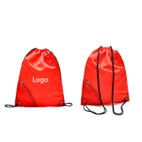 210T Drawingstring Bag with Zipper