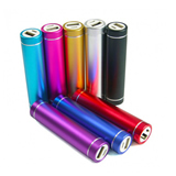 2200mAh round power bank