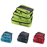 3 in 1 Packing Cube with Double Compartment Travel Bag