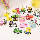3D-Cartoon Rubber Fridge Magnets