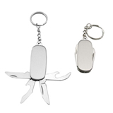 4-in-1 Multifunctional Promotional Knife Keychain