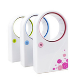 ABS Bladeless Fan USB Fan Air Conditioning Mini Fan