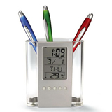 ABS Multifunctional Calendar Pen Container