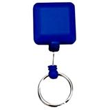 ABS Quadrate Badge Reel;Custom Retractable Badge Reel