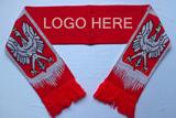 Acrylic Knit Soccer Scarves