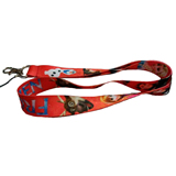 Adjustable Lanyards With Detachable Plastic Clip