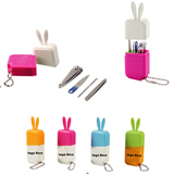 Advertisement Beauty Manicure Sets Four Sets of Nail Clipper