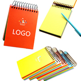 Advertising Spiral Wires Notepad/Notebook