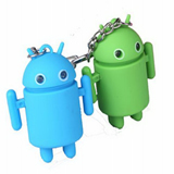 Android LED Keychain toys with Sound Flashlight