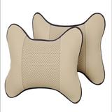 Auto Decoration PU Car Headrest Pillow Neck Pillow