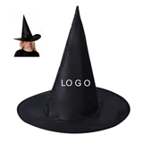 Black Halloween Witch Hat