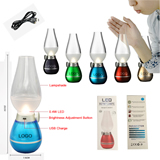 Blowing Control Lamp -Kerosene Oil Lamp Candle Design Dimmab