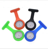 Brooch Type Watch;Nurse Fashion Silicone Nurse Watch