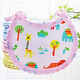 Cartoon Animal Baby Bibs