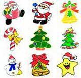 Christmas Cartoon Magnet