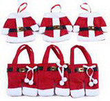 Christmas Clothes Cutlery Bag