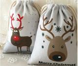 Christmas Oxford Drawstring Backpack