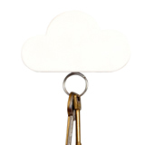 Cloud-Shaped Magnetic Key Holder
