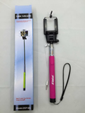 Collapsible Monopod selfie stick for phone and camera