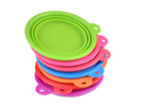 Collapsible Silicone Travel Pet Food Water Bowl