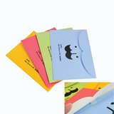 Colorful Custom Paper Document Pouch