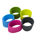 Colorful Heat insulation Silicone Cup Cover