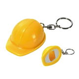 Construction hat bottle opener keychain/Hot sell promotional
