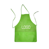 Cotton Apron With Pocket;Cooking Apron