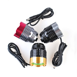 Custom 1000 Lumens Aluminium Alloy Bicycle Light