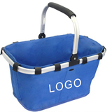 Custom Eco-friendly Folding Shopping Basket