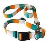 Custom Polyester Pet Dog Collar Pet Necklace