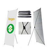 Custom X-Banner Display Stand 23 2/3