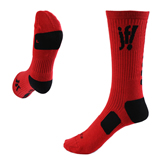 Custom logo soccer socks