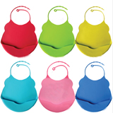 Cute Soft Silicone Baby Bibs