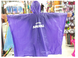 Disposable PE Rain Poncho