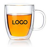 Double Cafe Glass Mug